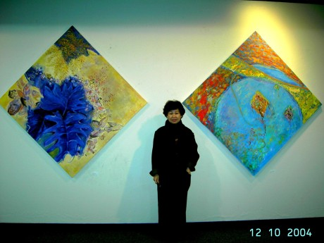artist and paintings