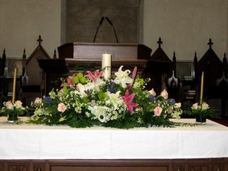wedding in church 1